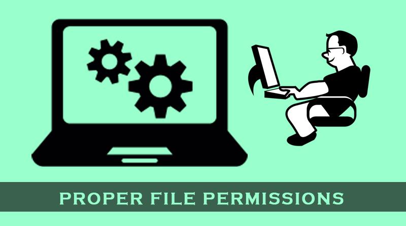 proper-file-permissions