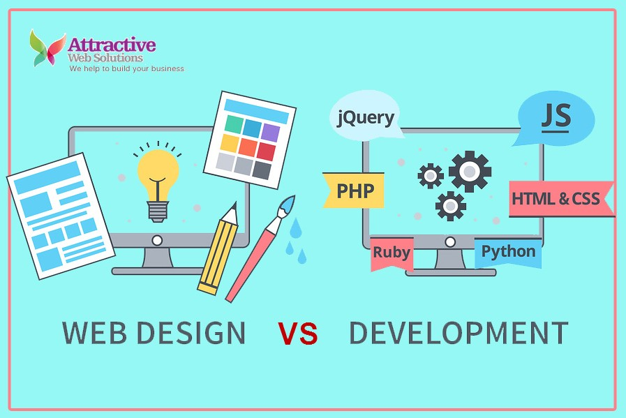 Difference between Web Design and Web Development